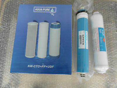 L29 5 Stage Reverse Osmosis Water System Ro Filter Pack