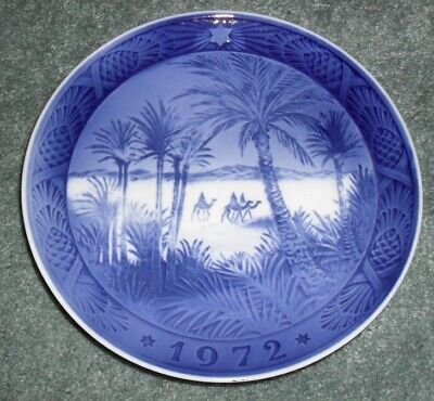 1972 Royal Copenhagen IN THE DESERT Three Kings PLATE
