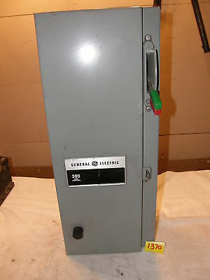 Ge 300 Line Control Size One Starter W/ Enclosure