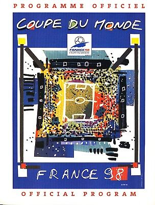 FIFA WORLD CUP 1998 FRANCE Official Tournament Brochure
