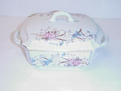 Marx & Gutherz Carlsbad Austria Covered Vegetable Bowl Antique 1886