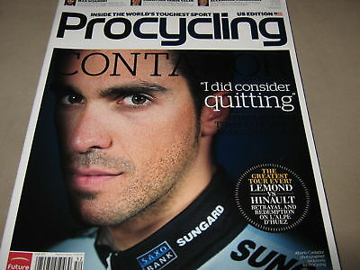 PRO CYCLING June 2011 Alberto Contador Max Sciandri NEW