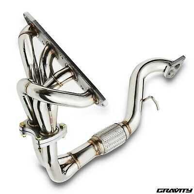 Stainless Race Sport Exhaust Manifold & Downpipe For Rover Mg Mgf 1.8 Vvc 95-00