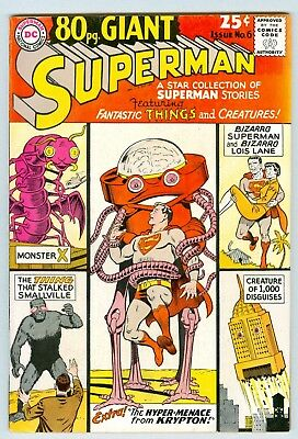 Eighty Page Giant #6 Superman VG/FN January 1965