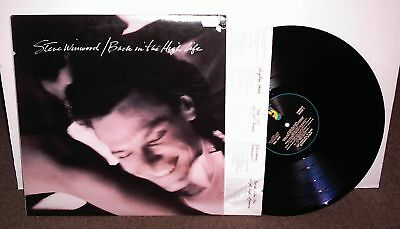 STEVE WINWOOD Back in High Life, vinyl LP w/inner, 1986, VG