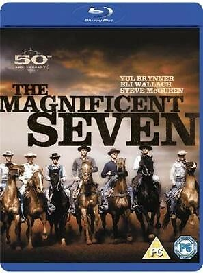 THE MAGNIFICENT SEVEN -Steve McQueen *NEW BLU-RAY REG B