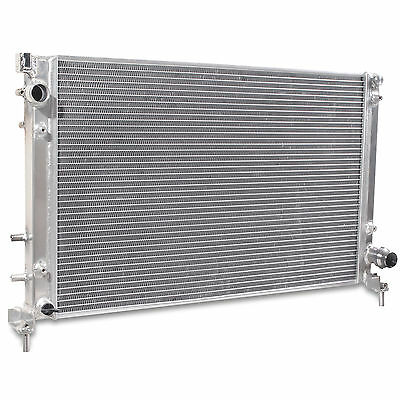 40Mm Aluminium Twin Core Race Engine Radiator Rad For Fiat 500 1.4 Abarth 08+