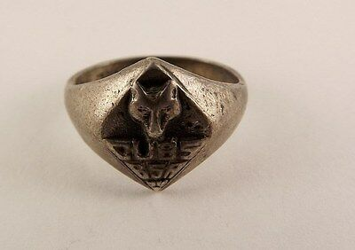 Sterling Silver Boy Scouts Of America Ring Cub Scouts