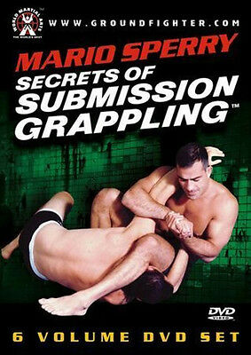 Mario Sperry Secrets Of Submission Grappling Mma Ufc