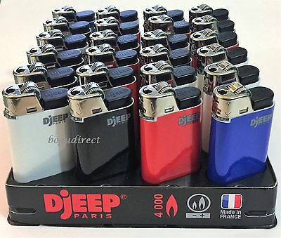 DJEEP large lighter Reg colors display of 24