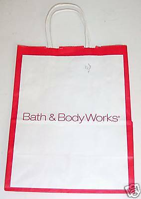 BATH & BODYWORKS HOLIDAY GIFT BAG * STORE COLLECTIBLES