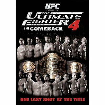 Ufc The Ultimate Fighter #4 The Comeback Mma Tuf