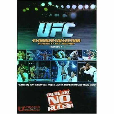 Ufc The Classics Ufc1-4 Set Gracie Shamrock Severn Mma