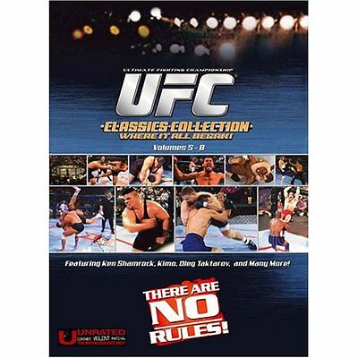 Ufc The Classics Ufc5-8 Set Shamrock Severn Kimo Mma