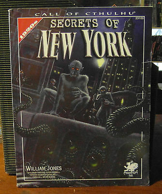 Call of Cthulhu RPG Secrets of New York Sourcebook Chaosium