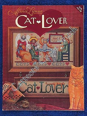 Cross Stitch Pattern Cat Lover Alma Lynne Cats & Sign