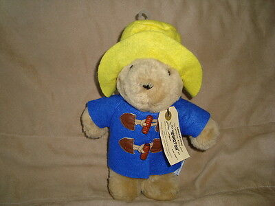 "Paddington Bear Plush Sears Kids Gifts 10"" Blue Coat"