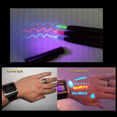 Temporary Tattoo uv Invisible body ink Pro Pen RED