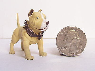 "Tan Pit Pitbull Dog 2"" New Figure Homies Hood Hounds"