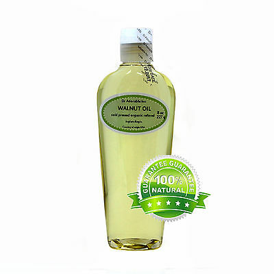 8 OZ WALNUT OIL ORGANIC REFINED COLD PRESSED PURE