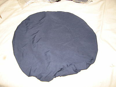 dress cap military police waterproof cover blue service