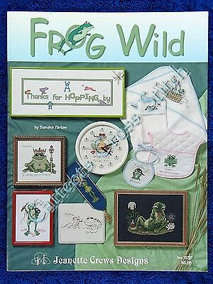 Cross Stitch Pattern Frog Wild 11 Frog Designs Adorable