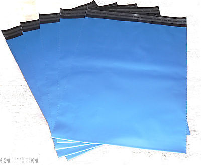 Blue Postal/mailing Bags 10 X Size 10 X14 Inch