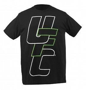 Ufc Tshirt Stacked Black - Mma Ufc Strikeforce
