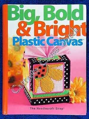 Plastic Canvas Patterns Big Bold & Bright Jigsaw + Lots