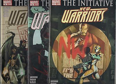 New Warriors (2007) Lot - #1 #2 #3 #4 #5 #6 #7 #8 #9 #10 #11 #12 #13 #14 (Nm)