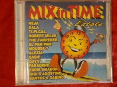 Compilation - Mix In Time Estate (Gigi D'agostino, Robert Miles...). Cd.