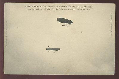 Aviation France Airships Zodiac Colonel Renard PPC