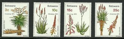 Botswana Scott # 143-146 Medicinal Plants Mint Never Hinged