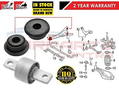 Fits Toyota Avensis T27 2009- Rear Axle Upper Trailing Control Arm Bush Kit