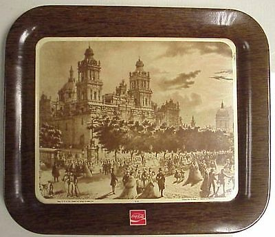 * Coca Cola Mexican Mexico Spanish Tip Tray 1971 Near Mint *