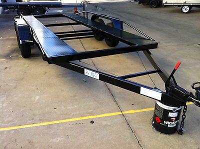 Brand New Car Trailer Tandem Dual Axle Light Weight 16Ft 2T Other Sizes Availab