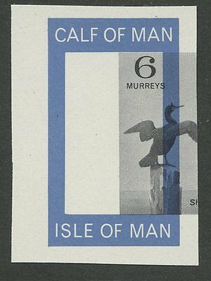 IOM Calf of Man 1963 1st Birds Proof 5m MOVED Shag