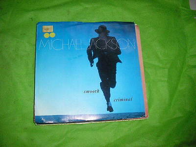 "7"" Pop Michael Jackson Smooth Criminal EPIC US"