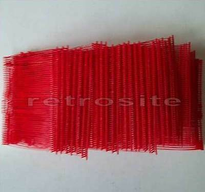 """5000 RED Price Tag REGULAR Tagging Gun 3"""" Barbs Fasteners BEST QUALITY"""
