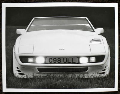 Tvr Press Photograph Black & White October 1986
