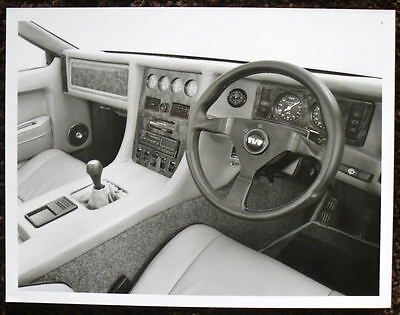 Tvr 400/450 S.e. Interior Press Photograph Black & White 1988-1989