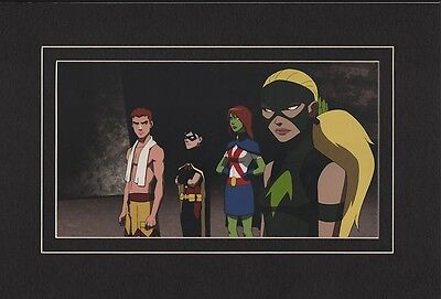 ENTER ARTEMIS MATTED PRINT YOUNG JUSTICE Animated