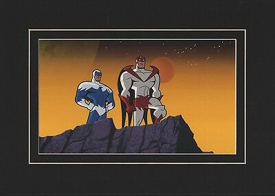 Hawk & Dove Matted Print Batman: Brave & Bold