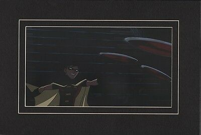 ROBIN Boy Wonder MATTED PRINT YOUNG JUSTICE Animated