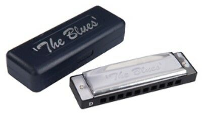 The BLUES HARMONICA in a choice of various keys - C, D, G, A, B, Bb, E and F