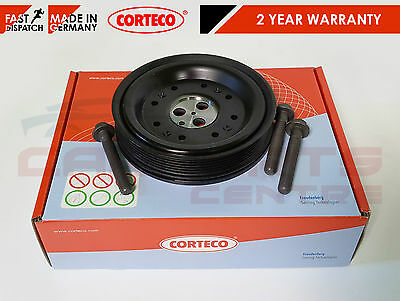 For Ford Mondeo 2.0 2.2 Tdci Td 2000-2007 Diesel Crank Shaft Pulley Corteco