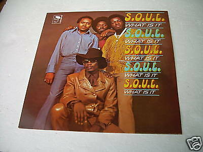 Lp S.o.u.l. What Is It Vinilo Soul And Funk Breaks