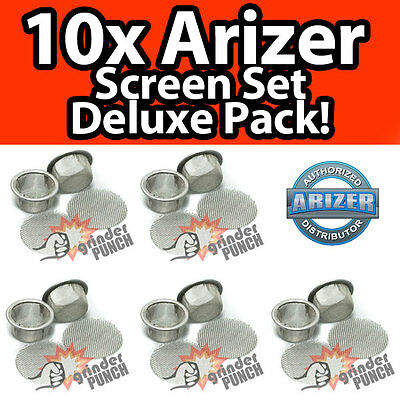 Arizer Extreme-Q V-Tower Replacement Screen Mesh Deluxe Value Set 10x dome + CIR