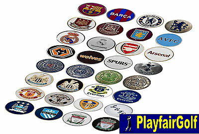 New - Football Premier League BPL, Championship, SPFL Golf Ball Markers