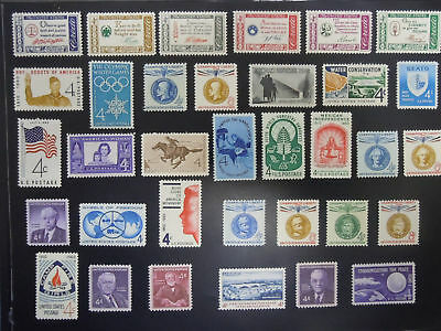 1960 US Commemorative Year Set Complete  #1139-1173  MNH